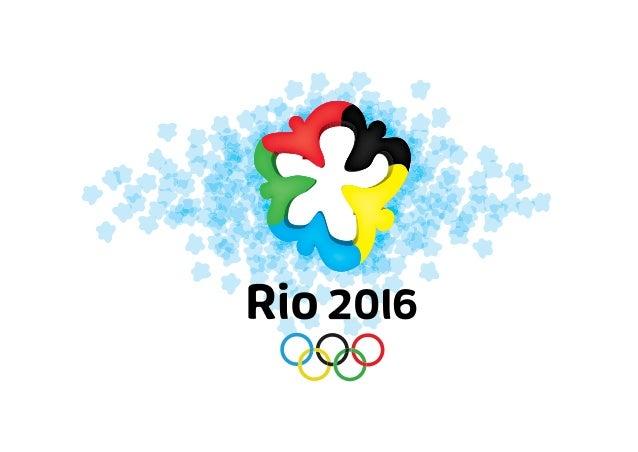 A proposta para a identidade visual dos jogos olímpicos de 2016 queserão sediados na cidade do Rio de Janeiro, Brasil cons...