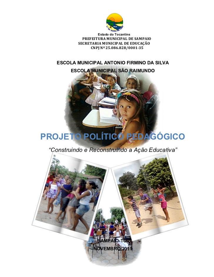 Projeto político pedagógico escolas do campo 2011