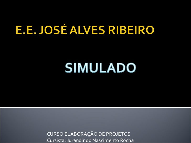 Projeto simulado