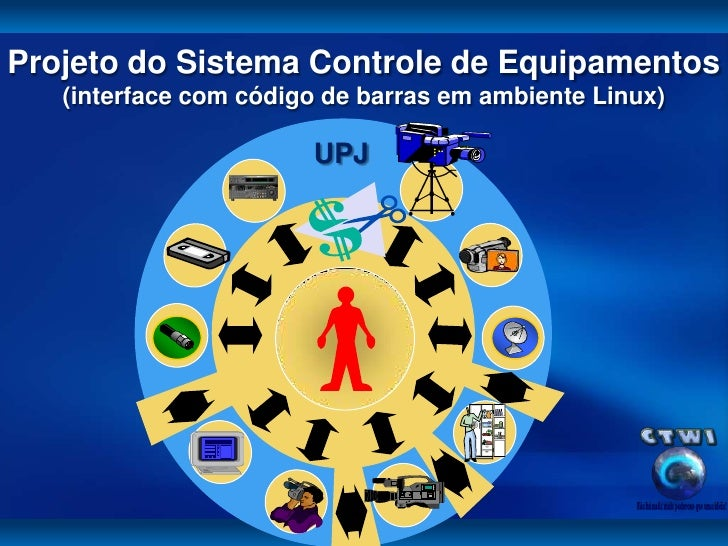 Projeto Sistema Controle Equipamentos