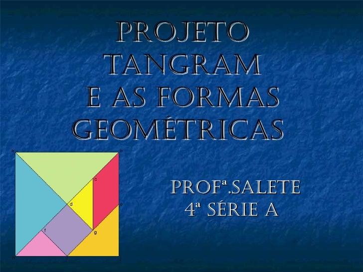 Projeto tangram