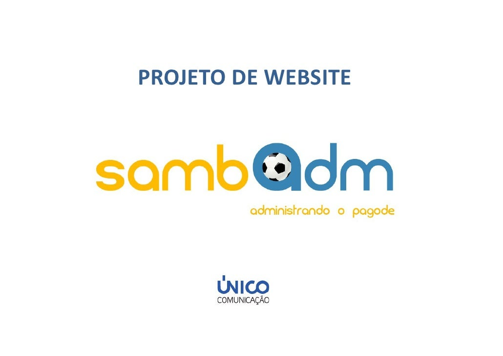 PROJETO DE WEBSITE