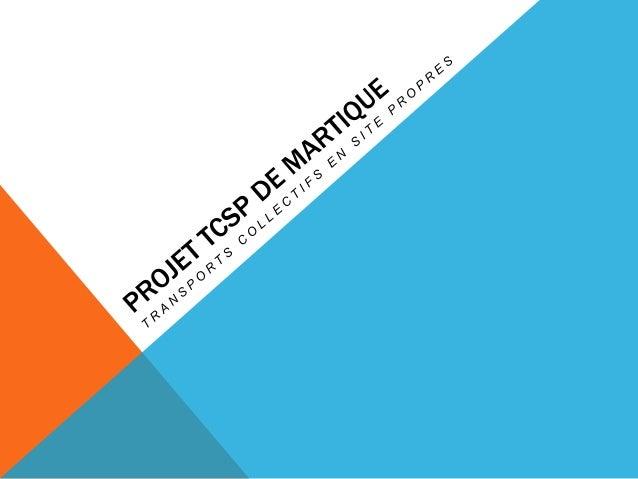 LA CIRCULATION EN MARTINIQUE L'agglomération de Fort-de France est confrontée à de graves problèmes de circulation routièr...