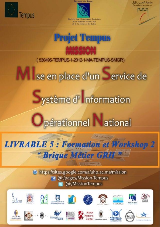 Projet tempus mission openerp