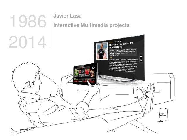 Proyectos de Javier Lasa 1988-2014