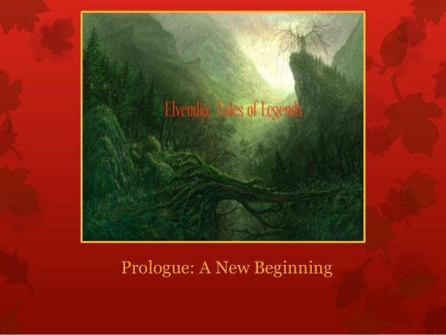 Prologue: A New Beginning