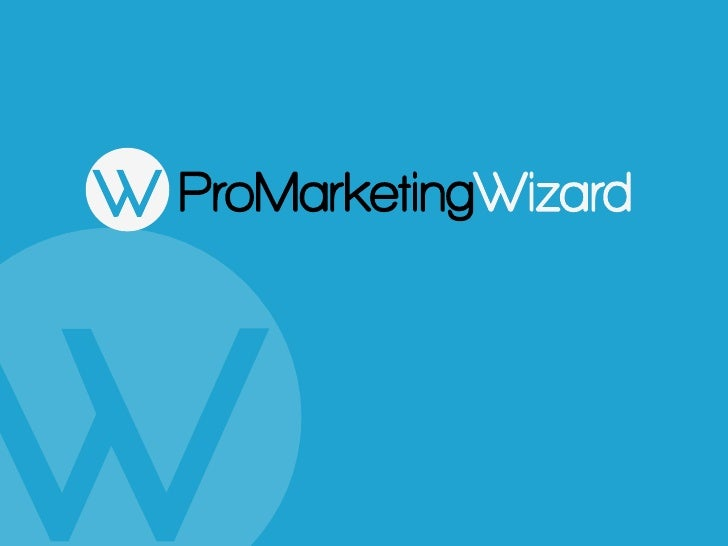 Pro Marketing Wizard Introduction