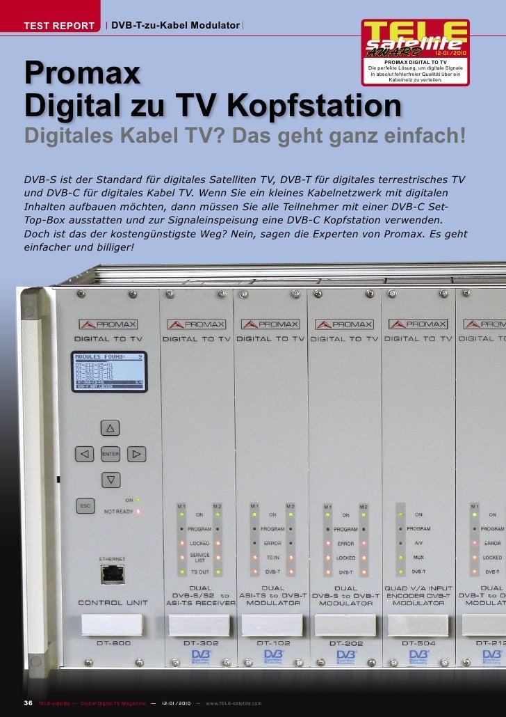 TEST REPORT                   DVB-T-zu-Kabel Modulator                                                                    ...
