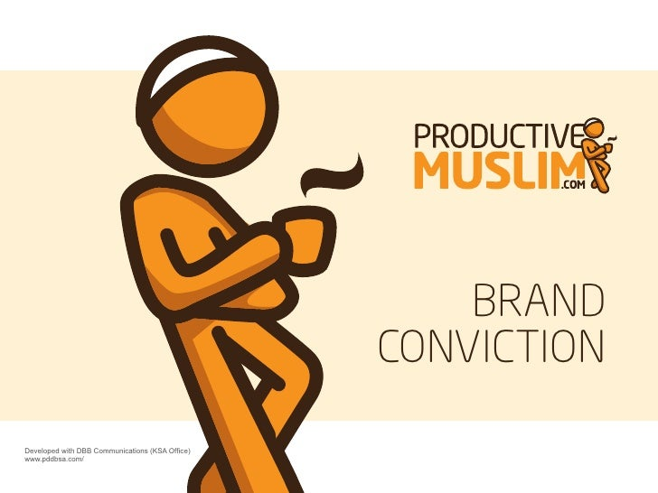 ProductiveMuslim Brand Personality