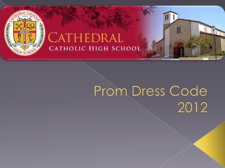 Prom dress code 2012