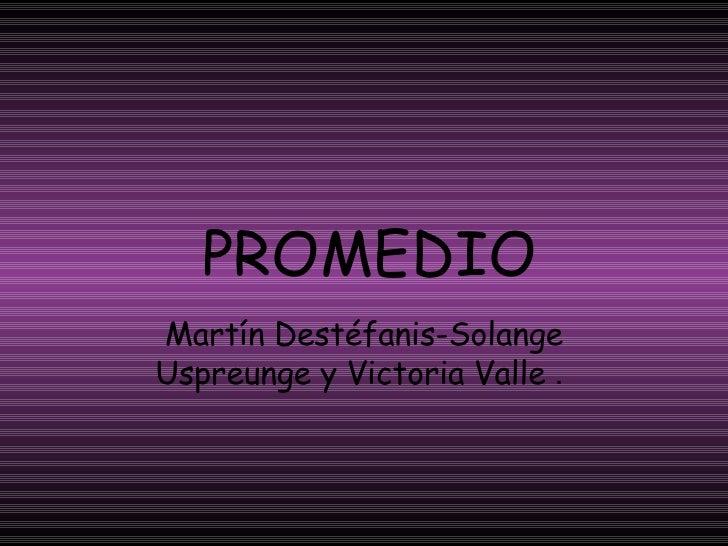 Promedio