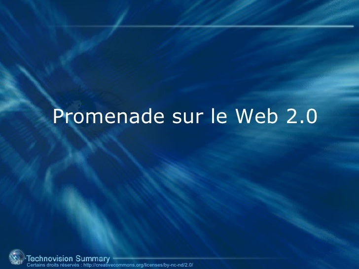 Promenade sur le Web 2.0