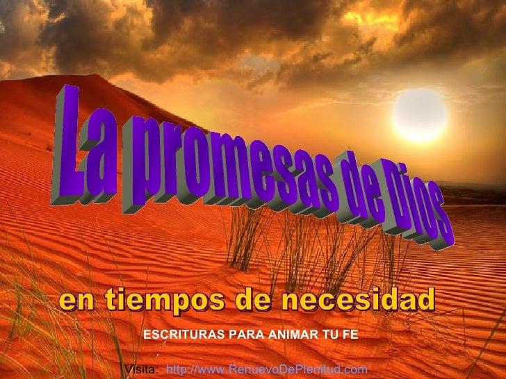 PROMESAS DE DIOS