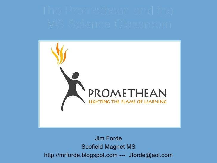 Prometheanscience