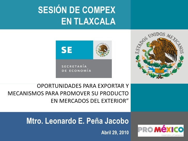 Promexico compex tlaxcala