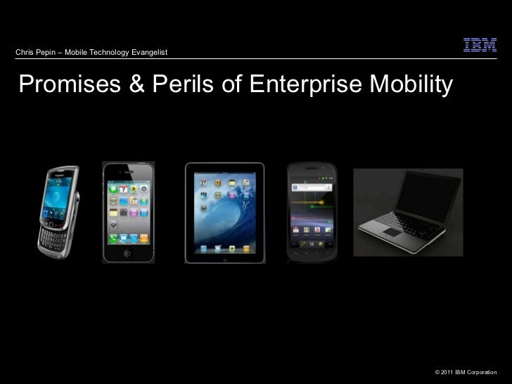 Promise and perils of enterprise mobility