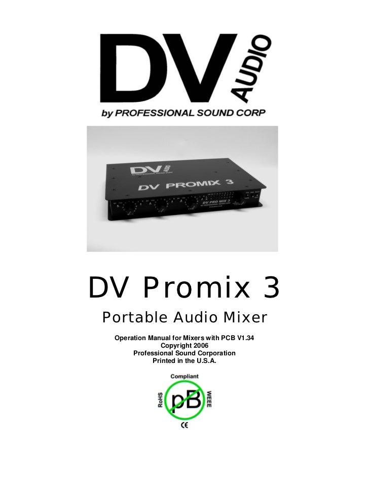 PSC Pro Mix 3