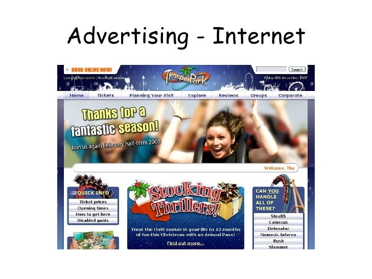 Advertising - Internet
