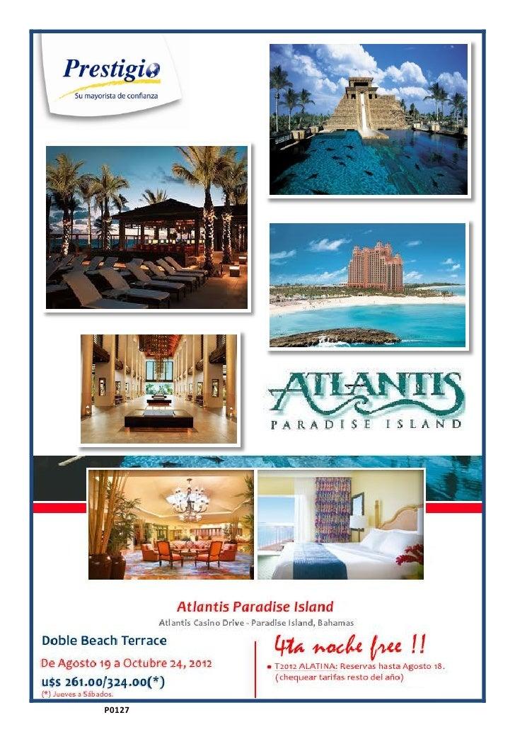 Promo atlantis bahamas