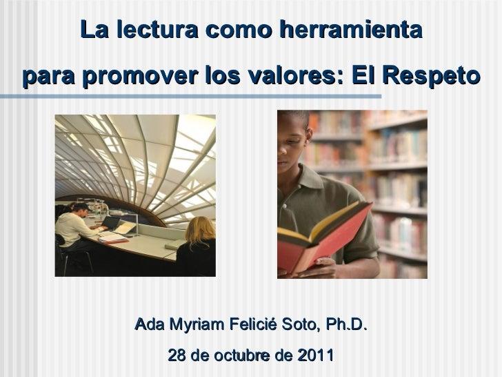 Promoción de la lectura en la Biblioteca Publica