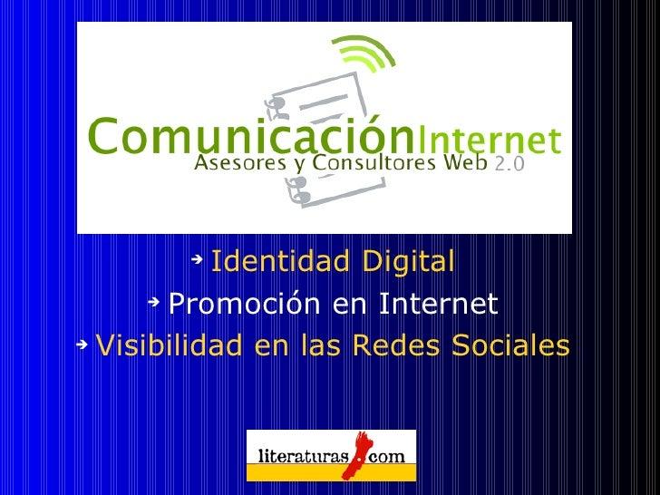 Promocion web 2.0