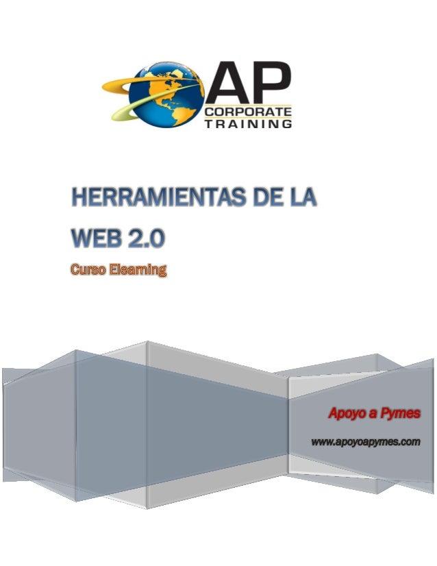 Promocional curso herramientas web