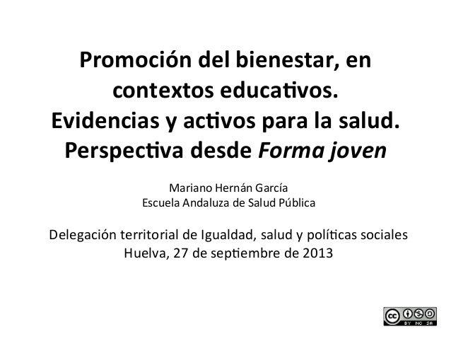 Promocion bienestarescuelafj hernanm2013