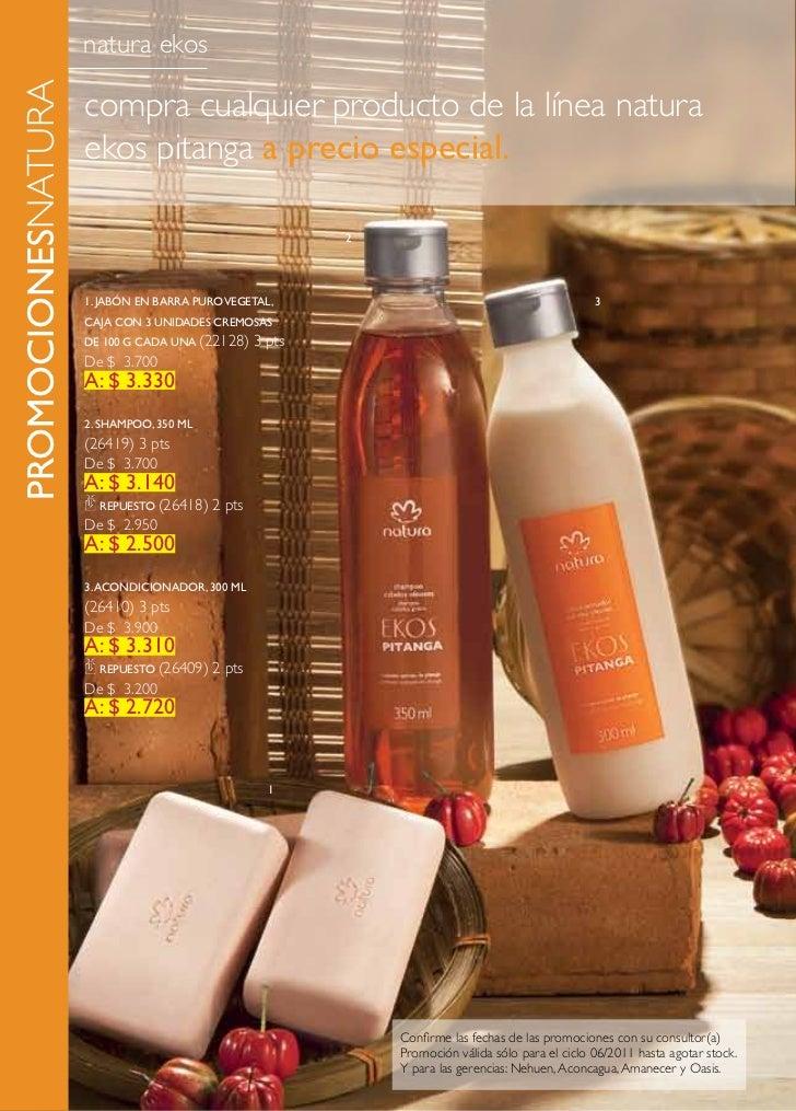 promocionesnatura   natura ekos                    compra cualquier producto de la línea natura                    ekos pi...