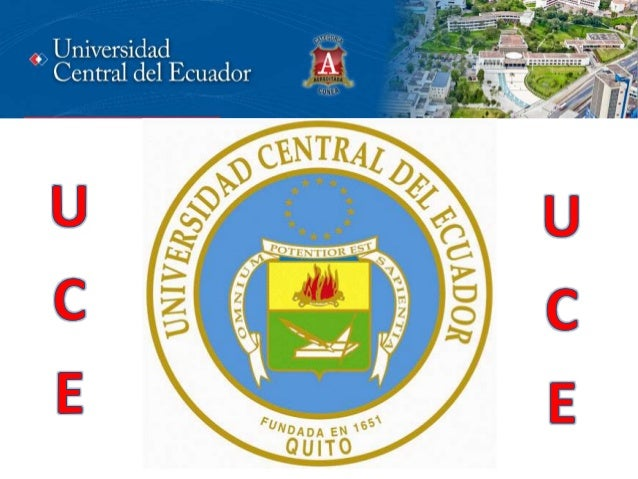 UNIVERSIDAD CENTRAL DEL ECUADOR 2013
