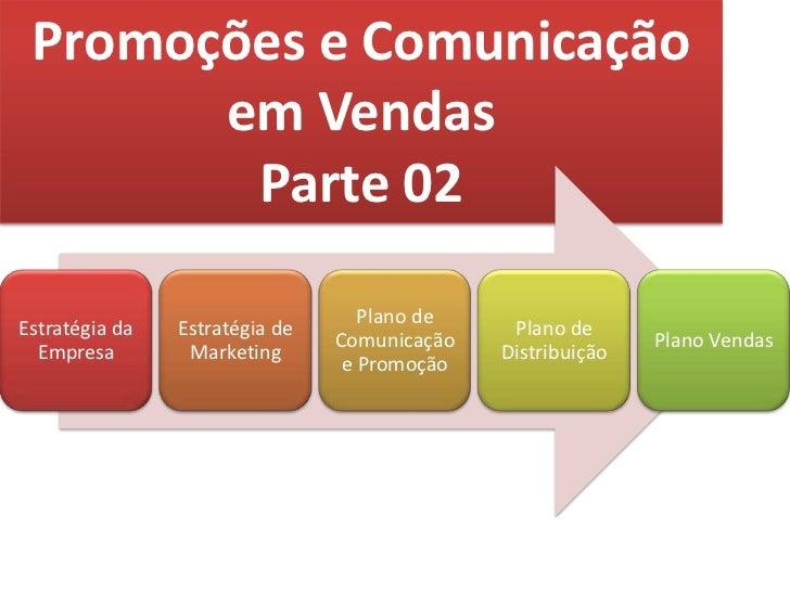 Promoções e ComunicaçãoemVendas<br />Parte 02<br />