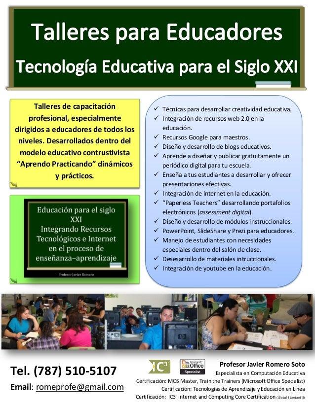 Promo servicios profesionales educativos