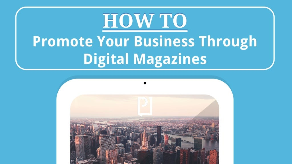 Digital Magazines - Magazine cover