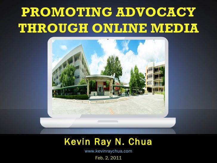 Promoting Advocacy Through Online Media