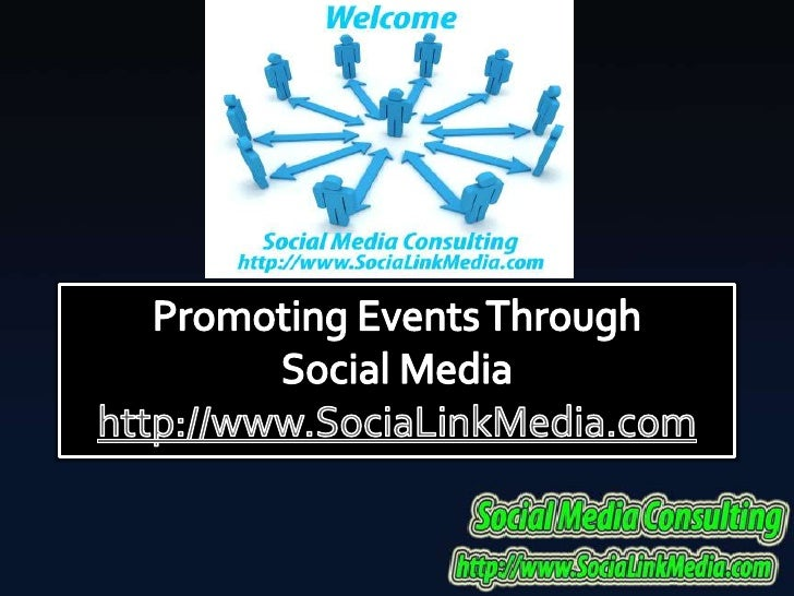Promoting Events Through Social Media