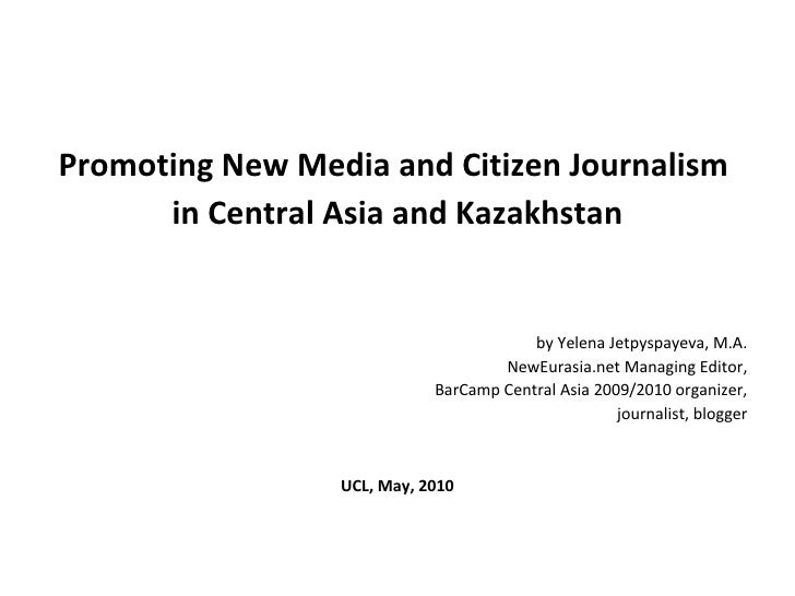 Promoting New Media in Central Asia