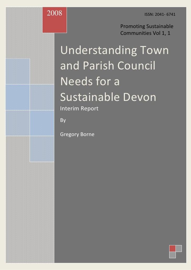 Promoting sustainablecommunities1(1)