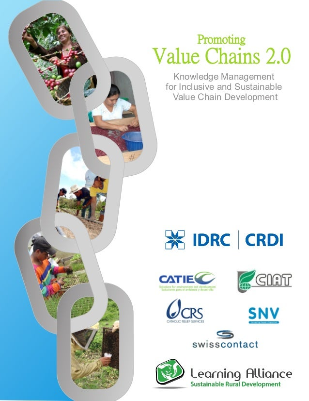 PromotingValue Chains 2.0Knowledge Managementfor Inclusive and SustainableValue Chain Development