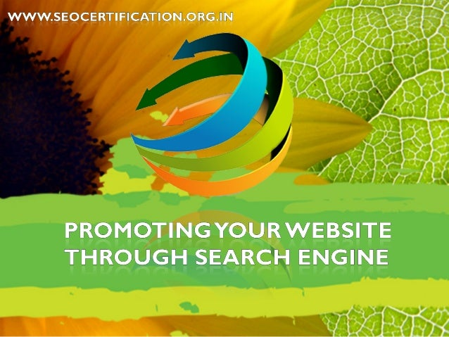 Promoting website through_search engine