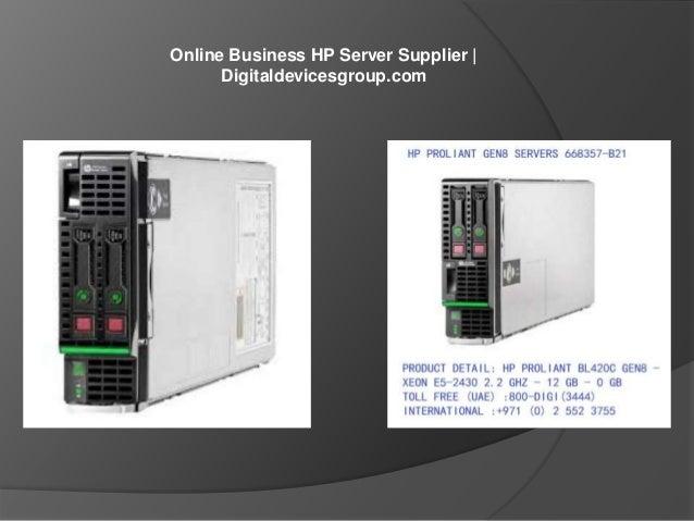 Online Business HP Server Supplier   Digitaldevicesgroup.com