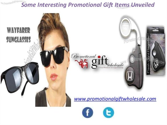 Some Interesting Promotional Gift Items Unveiled