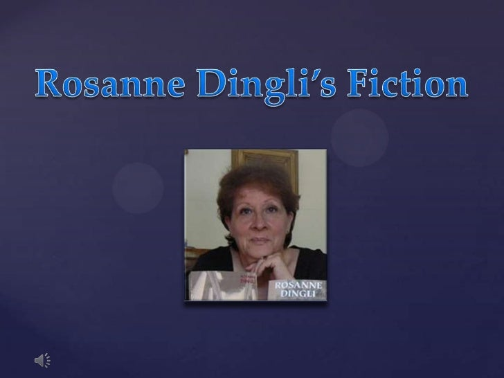 Rosanne Dingli's Fiction