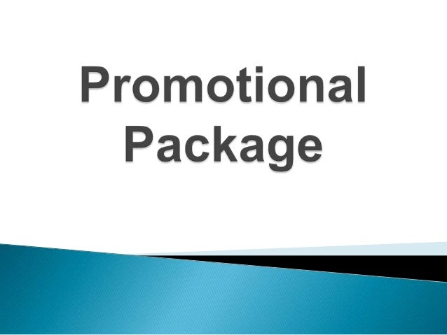 Promotional package