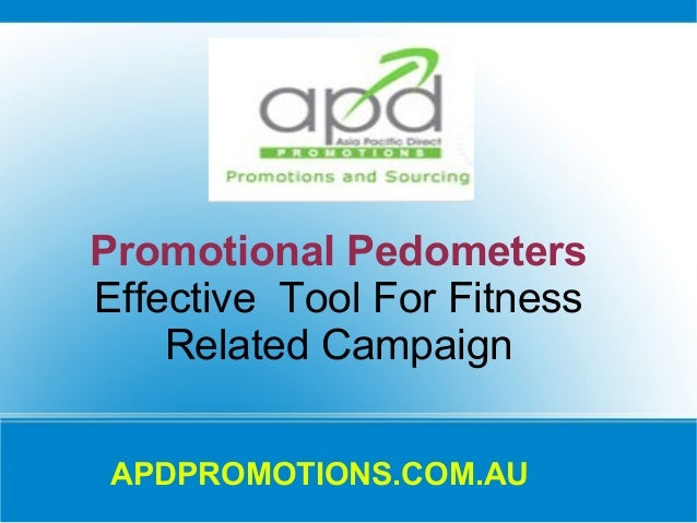 Promotional Pedometers Effective Tool For Fitness Related Campaign APDPROMOTIONS.COM.AU