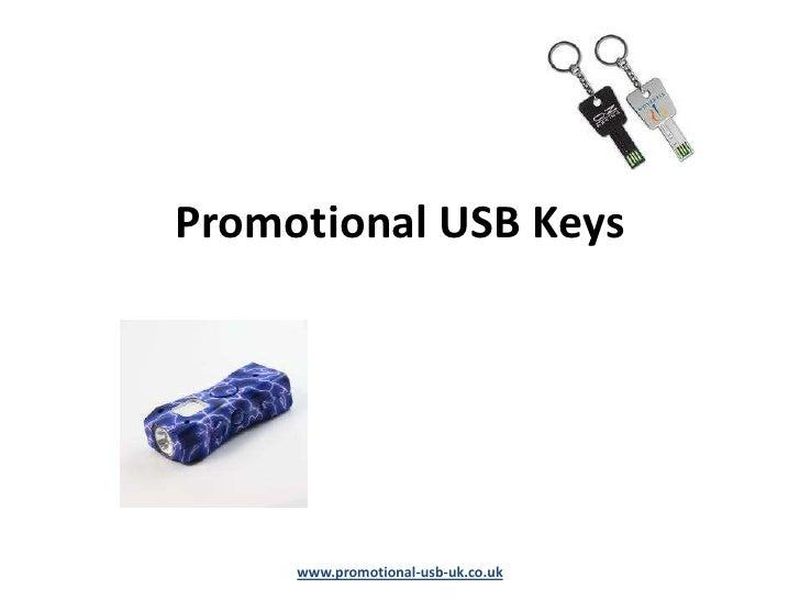 Promotional USB Keys     www.promotional-usb-uk.co.uk