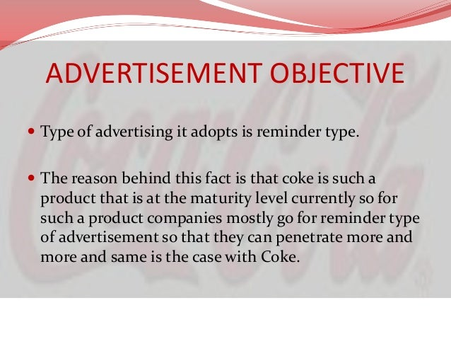 the marketing strategy and different types of promotion of coca cola Can coca-cola's 'one brand' marketing strategy help sales pop told marketing week: [coca-cola's] marketing remains impressive.