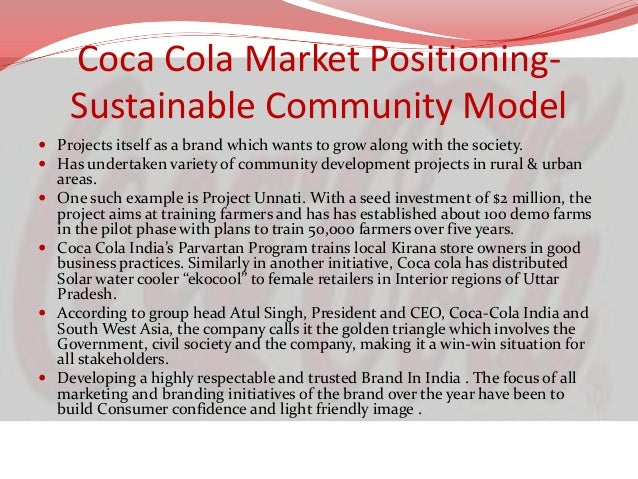 coca cola personal selling process We monitor our production processes with sophisticated control equipment and  testing programmes in order to meet and exceed our customers' and consumers' .