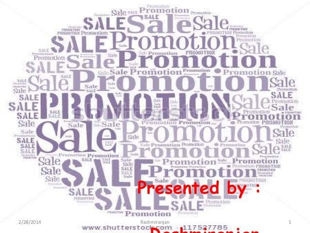 Promotion mix of marketing