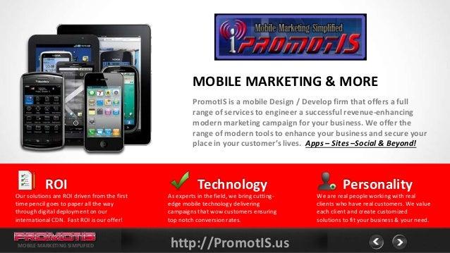 PromotIS Marketing, Mobile Smart Phones? How Smart is Your Business?