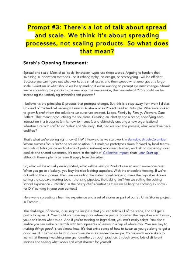 "2014-02 - Debate Writing @MindLab - Prompt#3 ""Scaling"""