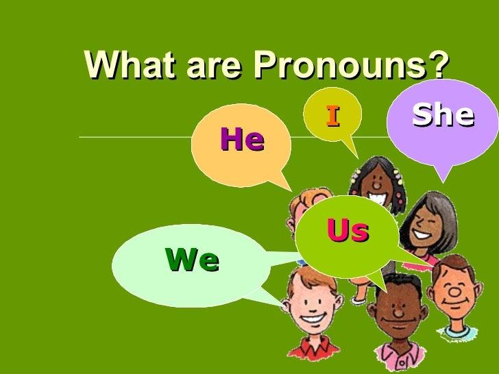 Pronoun interactive